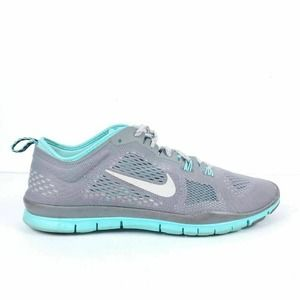 Nike Womens Free 5.0 Tr Fit 4 Running Shoes Gray